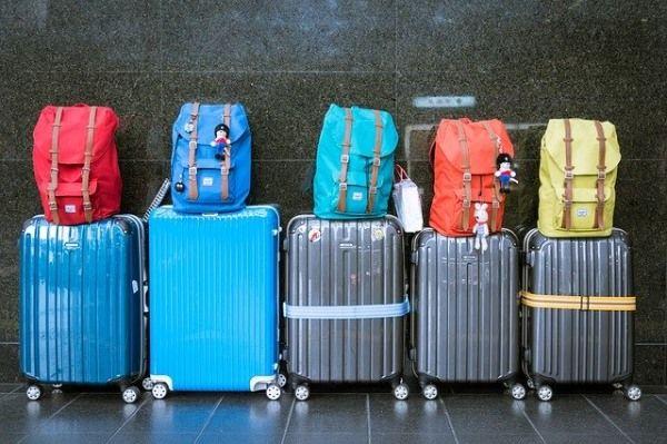 equipaje viajar madrid maleta